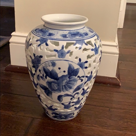 Other - Blue and White Vase made in China